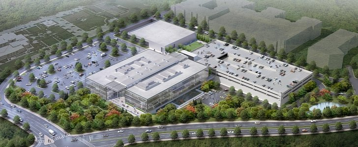 Mercedes benz reveals first rendering of its sandy springs for Mercedes benz north american headquarters