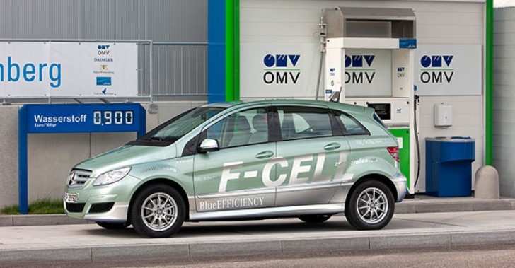 Mercedes-Benz Rumored to Be Working on Two Hydrogen Fuel-Cell Cars