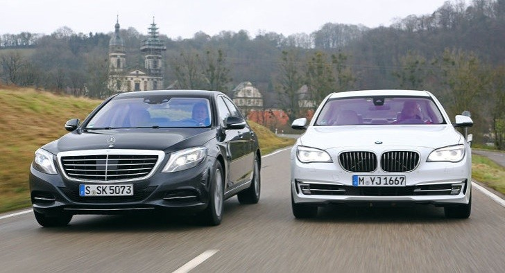 mercedes benz s 500 vs bmw 750i by auto bild autoevolution