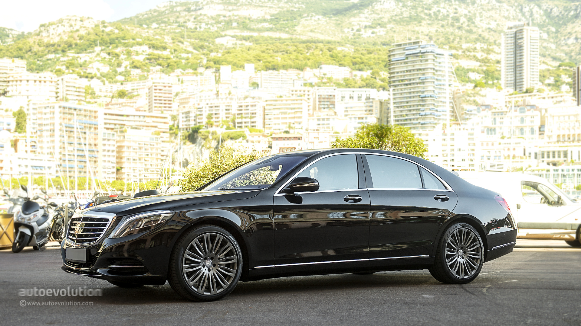 mercedes benz s 500 w222 tested by autoevolution