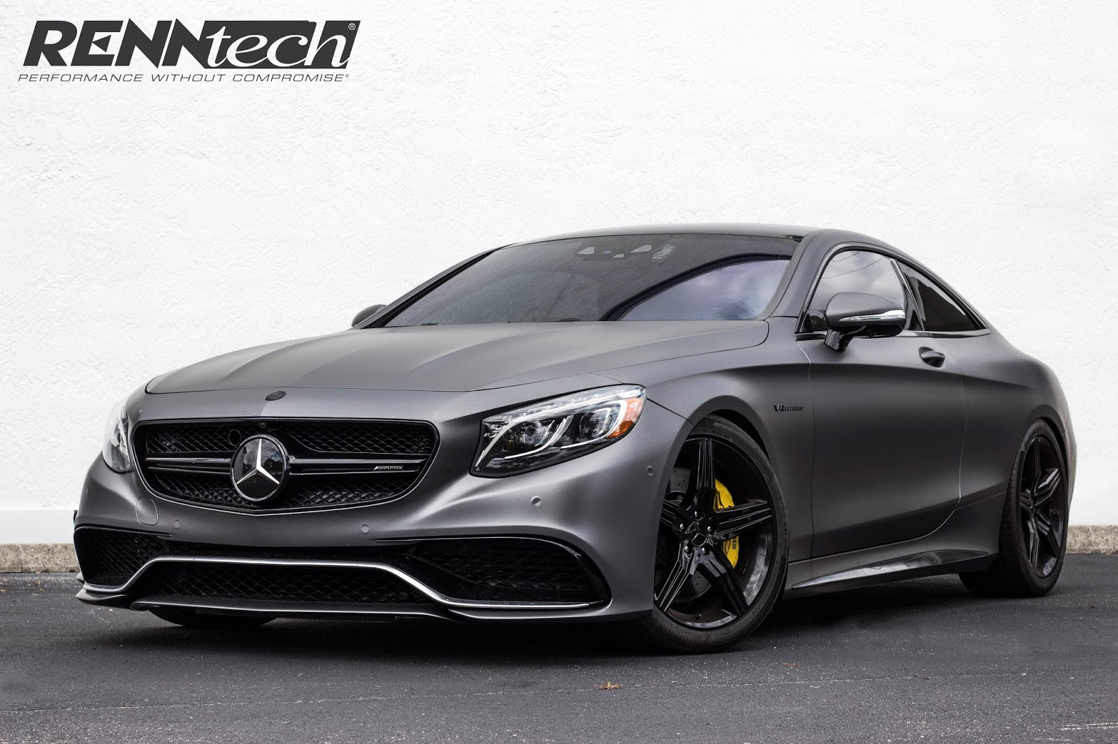 Mercedes-AMG S 63 Coupe Gets Tuning Package From RENNtech, Reaches