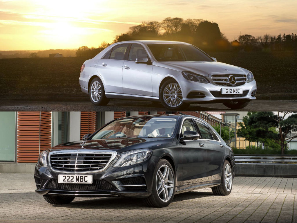 Mercedes benz s class and e class win more awards in the for Win a mercedes benz