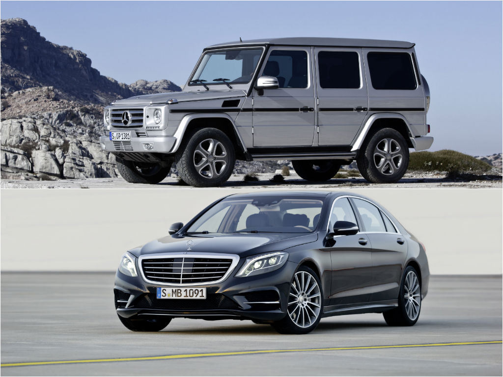 Mercedes benz s class and g class are the best cars of for The best mercedes benz
