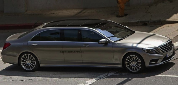 Mercedes benz s class pullman to replace dead maybach in for Mercedes benz pullman