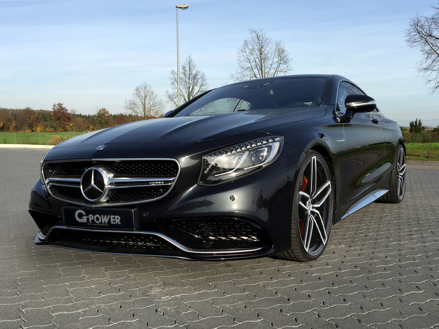 mercedes benz s63 amg coupe by g power makes 705 hp autoevolution. Black Bedroom Furniture Sets. Home Design Ideas