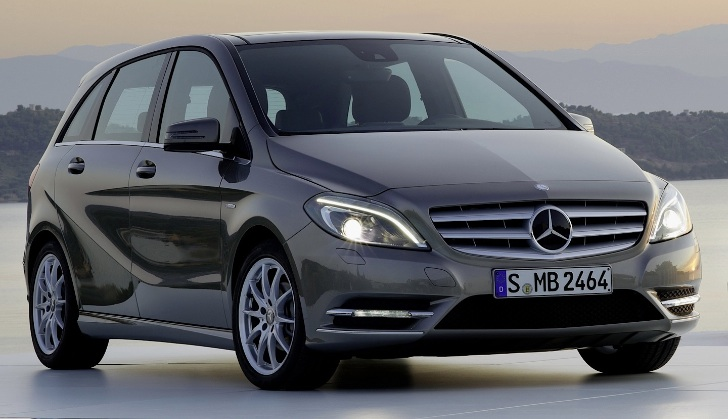 Mercedes benz sells over million b class models for Upcoming mercedes benz models