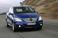 Mercedes-Benz B-Klasse sold in Europe