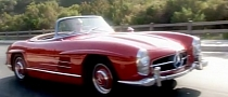 Mercedes-Benz SL: All Six Generations Meet in Hollywood [Video]