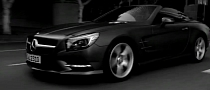Mercedes-Benz SL Commercial in Black & White [Video]