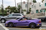 Mercedes-Benz SL R230 Facelift Sighted with LA Lakers-Inspired Colors [Photo Gallery]