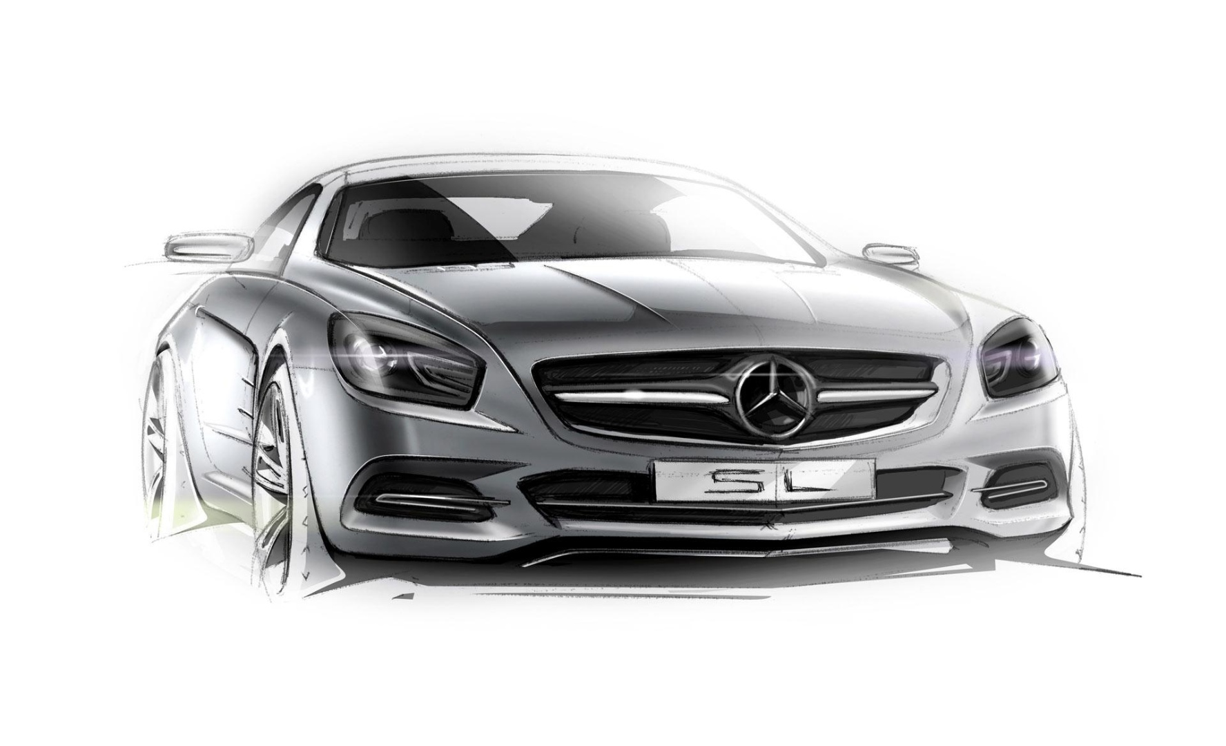 Mercedes benz sl roadster r231 to receive drastic facelift for 2015 mercedes benz sl