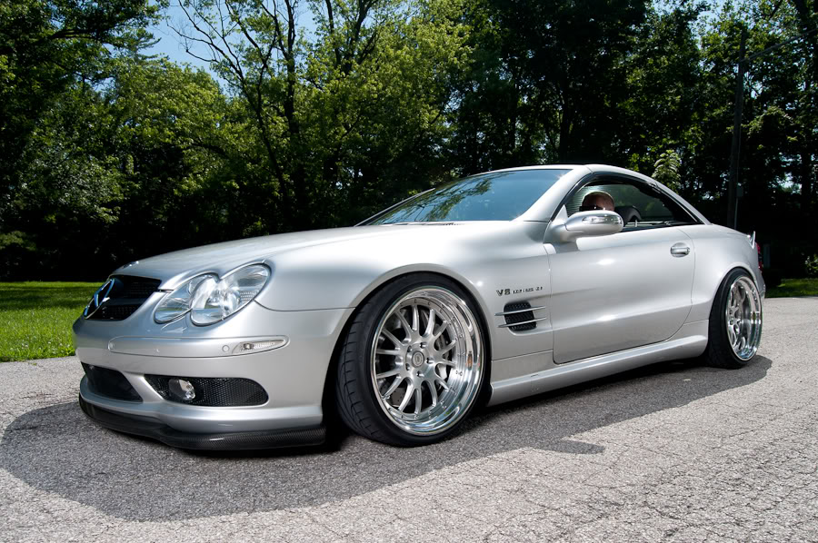 mercedes benz sl55 amg gets multiple tweaks autoevolution