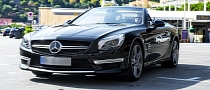 Mercedes-Benz SL63 AMG Original Pictures