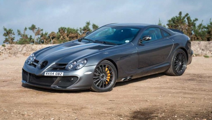 Mercedes-Benz SLR McLaren Edition Gets Driven by Piston Heads