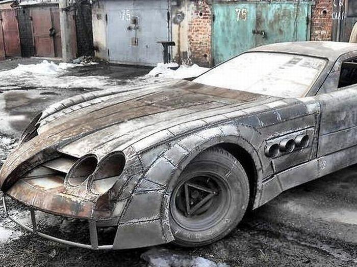 Mercedes Benz Slr Mclaren Russian Style Autoevolution