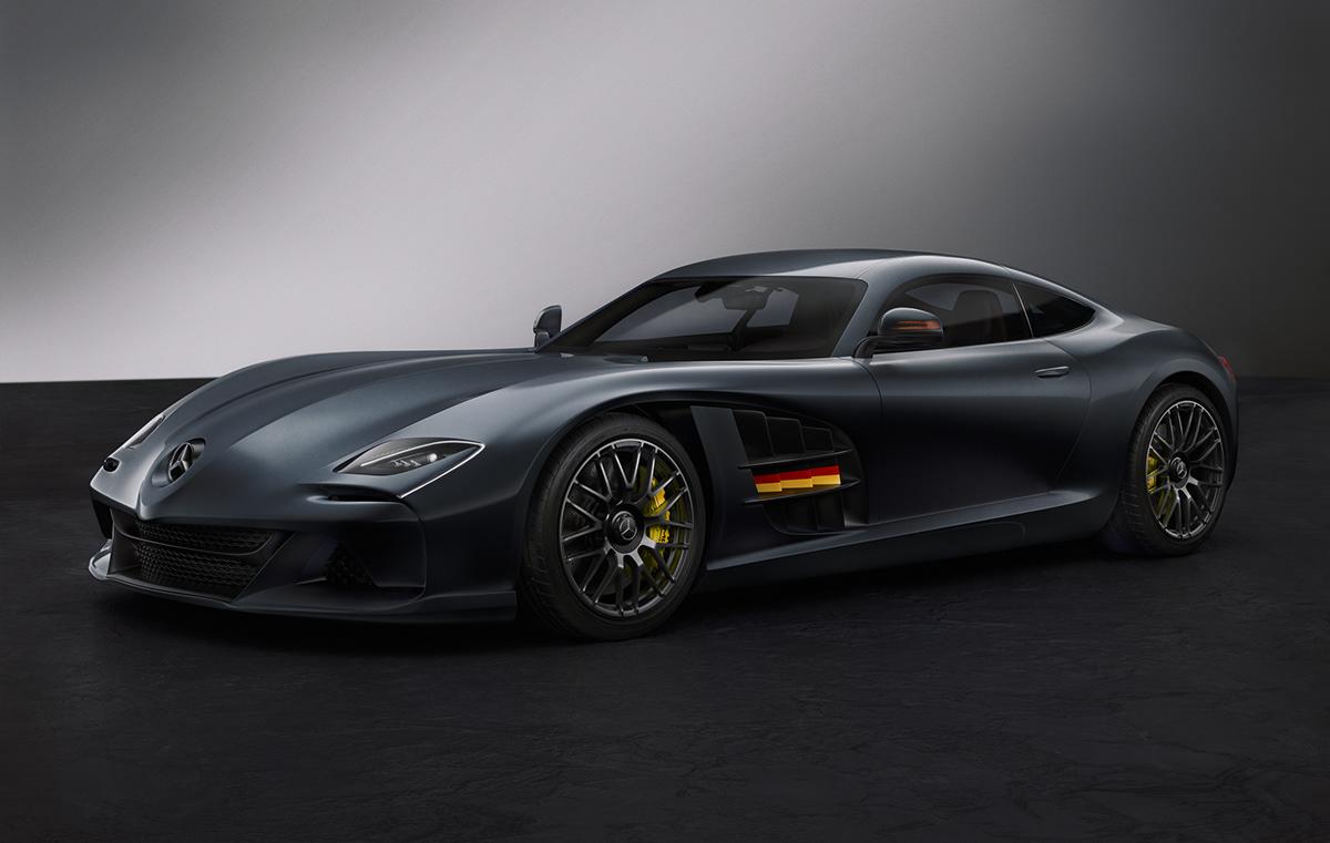 "Mercedes-Benz SLR McLaren ""Vision Concept"" Hyper GT Looks ..."