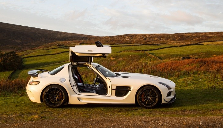 mercedes benz sls amg black series gets reviewed by autocar autoevolution