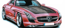 Mercedes Benz SLS AMG, Bodykit by Lorinser