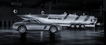 Mercedes-Benz SLS AMG Cigarette Boat Up for Grabs for $1M+