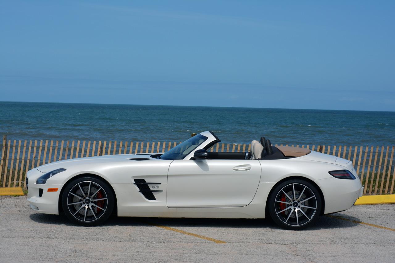 Mercedes benz sls amg gt roadster gets reviewed by for Mercedes benz roadster amg