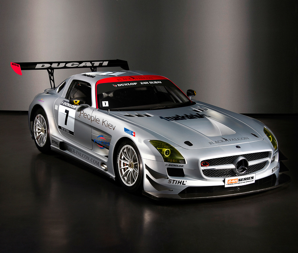 Mercedes Benz SLS AMG GT3 Front