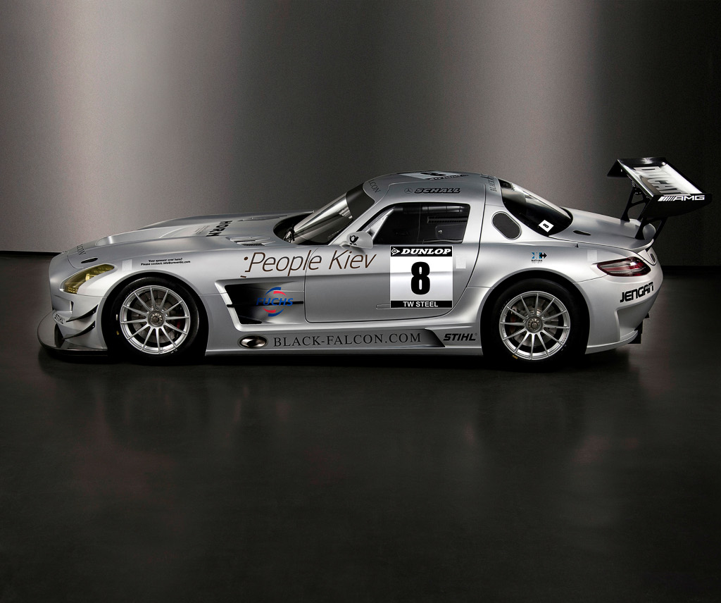 Mercedes benz sls amg gt3 enters dubai 24 hours for Mercedes benz gt3