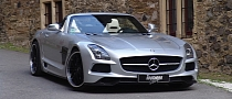 Mercedes-Benz SLS AMG Roadster Borrasca by Inden Design [Photo Gallery]