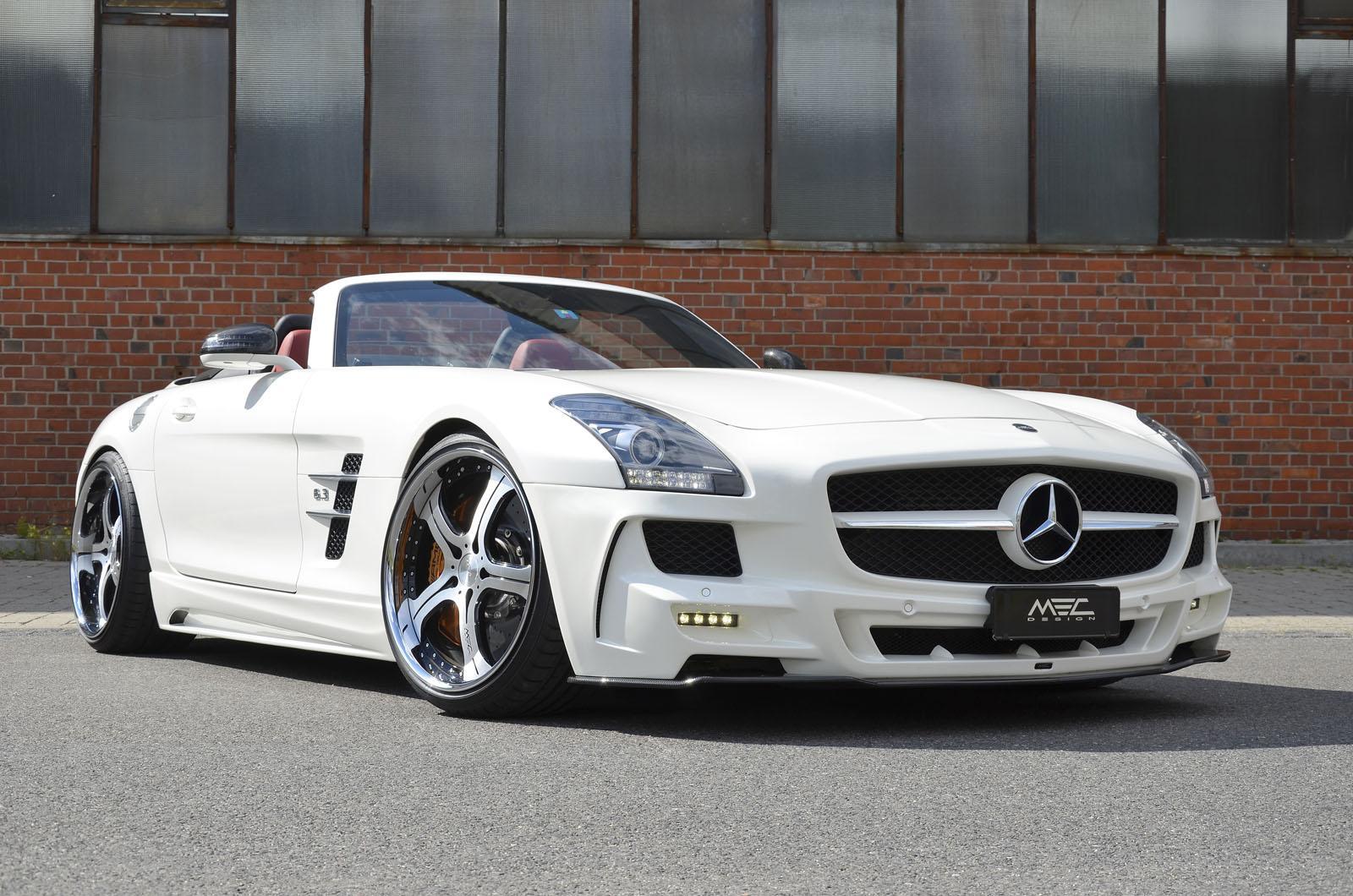Mercedes Benz Sls Amg Roadster By Mec Design Autoevolution