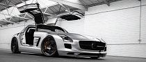 Mercedes-Benz SLS AMG Silver Wing by Wheelsandmore