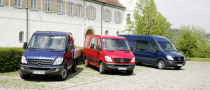 Mercedes Benz Sprinter Gets New Engines