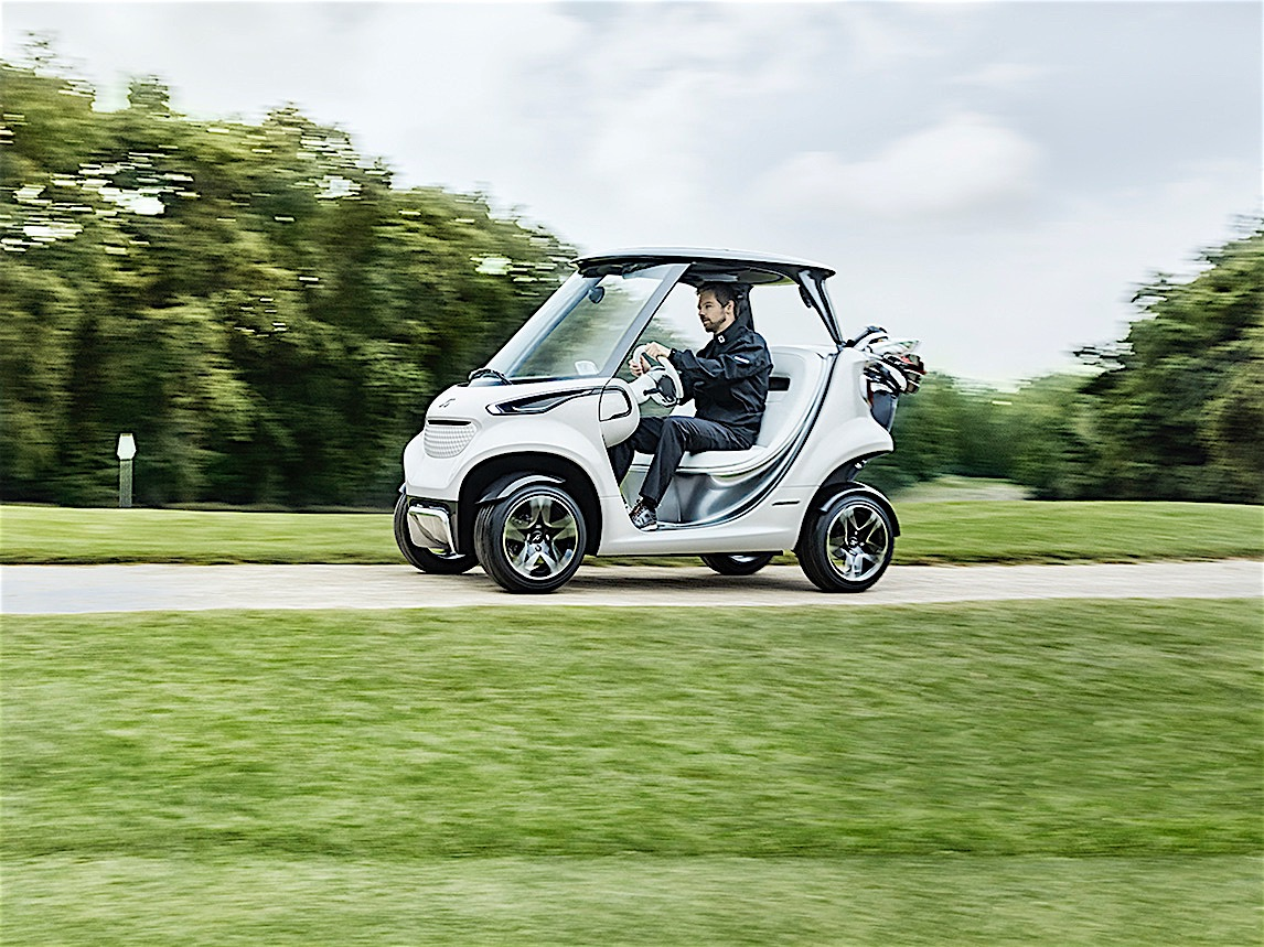 Mercedes-Benz Unveils a Premium Golf Cart Called The Style Edition on maserati golf cart, harley davidson golf cart, 8 seater golf cart, ferrari golf cart, ducati golf cart, hummer golf cart, convert to gas golf cart, lamborghini golf cart, john deere golf cart, yanmar golf cart, ac golf cart, dodge ram golf cart, camaro golf cart, audi golf cart, custom golf cart, ford think golf cart, d&d golf cart, bentley golf cart, big rig golf cart, cadillac golf cart,