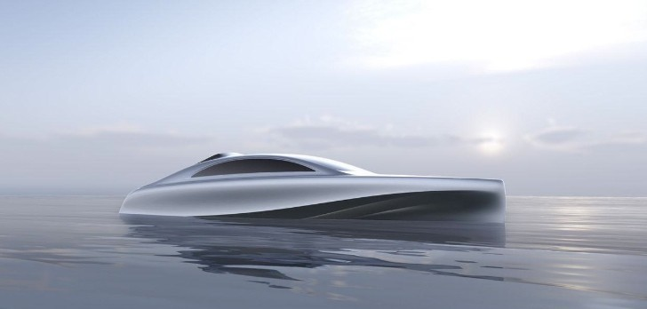 Mercedes-Benz Teases Silver Arrow of the Seas Luxury Yacht [Photo Gallery]