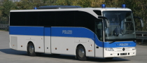 Mercedes-Benz Tourismo Buses for German Police
