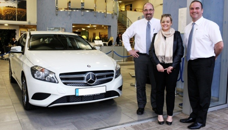 Mercedes-Benz UK Celebrates 100,000 Cars Sold This Year