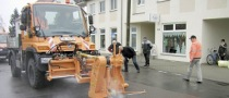 Mercedes-Benz Unimog Proves Ideal for Asphalt Repair