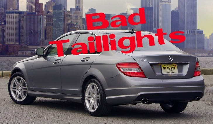 Mercedes benz usa recalls c class w204 for taillights for Mercedes benz c class recall