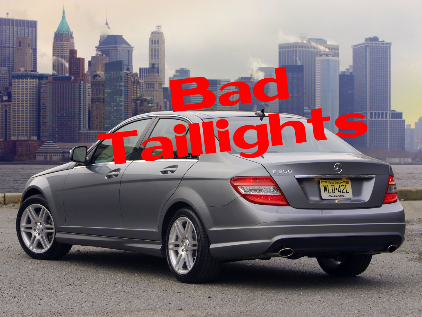 Mercedes benz usa recalls c class w204 for taillights for Mercedes benz of usa
