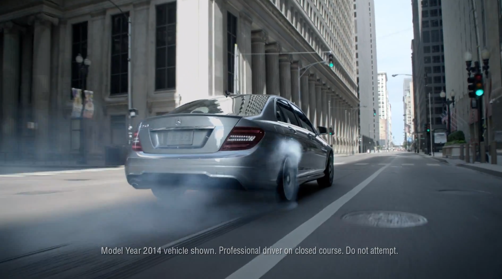 Mercedes benz usa releases c class alignment commercial for Mercedes benz commercial