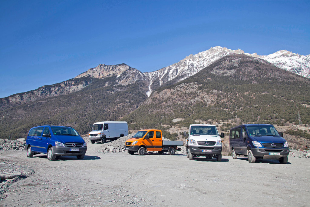 Mercedes Benz Vans Range Available With All Wheel Drive