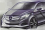 Mercedes-Benz Viano Successor Design Sketches Leaked