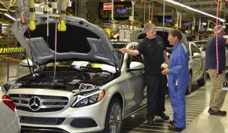 Mercedes benz wants to significantly increase us for Mercedes benz manufacturing plant in usa