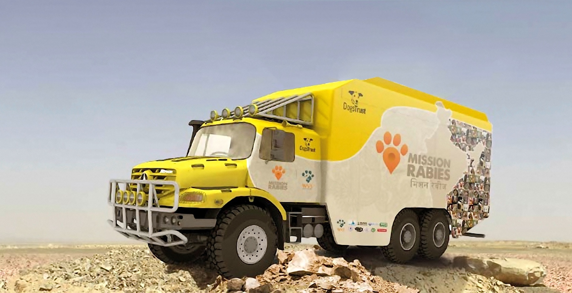 Mercedes-Benz Zetros 2733 A (6x6) to be Used for Rabies ...