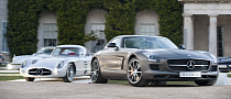 Mercedes Bringing 300 SLR and SLS AMG GT Coming to Goodwood FoS 2013