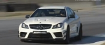 Mercedes C63 AMG Coupe Black Series Laps Laguna Seca [Video]