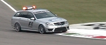 Mercedes C63 AMG F1 Medical Car Audio Explosion [Video]