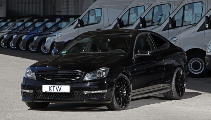 Mercedes C63 AMG Tuning by KTW [Photo Gallery]