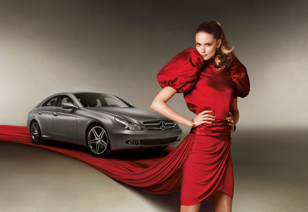 Mercedes chooses julia stegner as new fashion brand for Mercedes benz brand ambassador