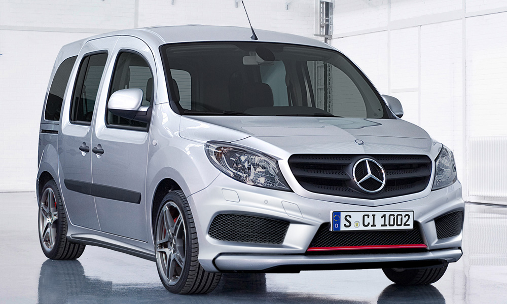 mercedes citan 45 amg autoevolution. Black Bedroom Furniture Sets. Home Design Ideas
