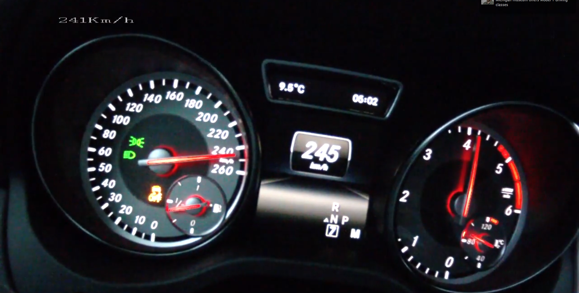 Mercedes cla 220 cdi reaches 242 km h in top speed testing for Mercedes benz cla 250 top speed