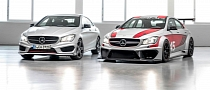 Mercedes CLA 45 AMG Racing Series Concept Coming to Frankfurt [Photo Gallery]